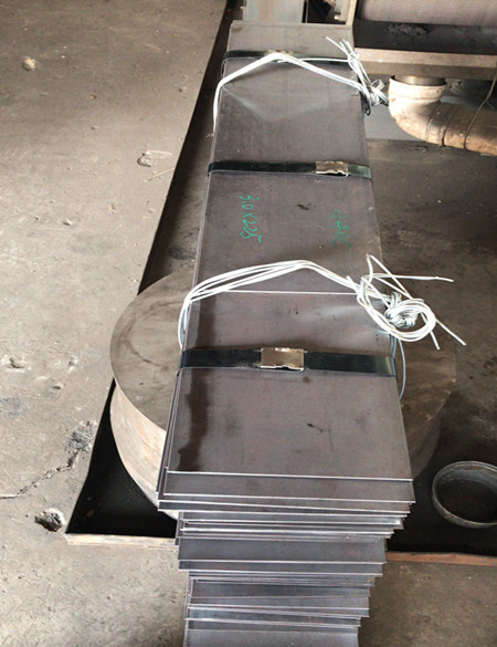 Stainless steel plates 440A, 440B, 440C