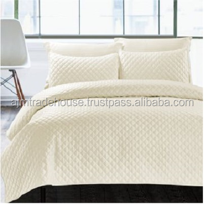 new beautiful/cotton/fancy/latest/bed shet set/quilted/comforter