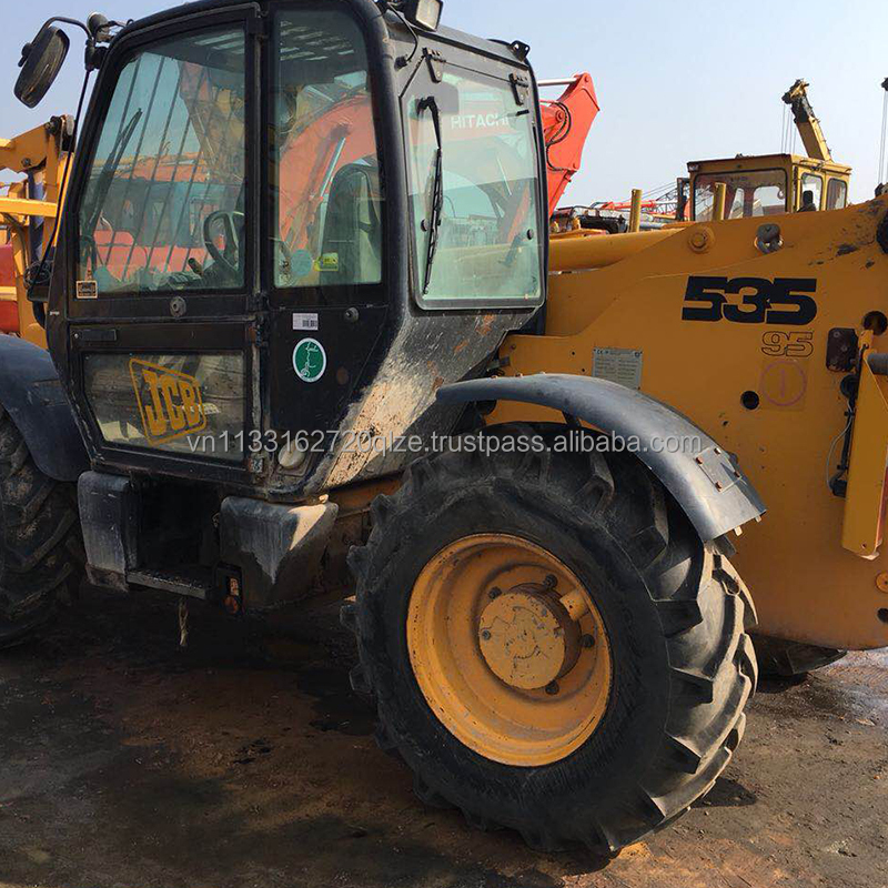 Second hand mini JCB 535-95 Used Telescopic Forklift With good working condition