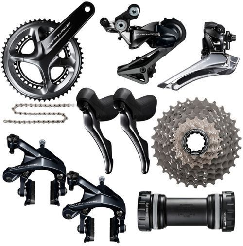 Super Deal for 2017 Shimano Dura Ace Group 9100 11s Groupset Kit Group Set 11x25,11x28,11x30