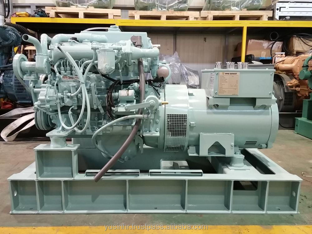 50kW Generator set for marine application