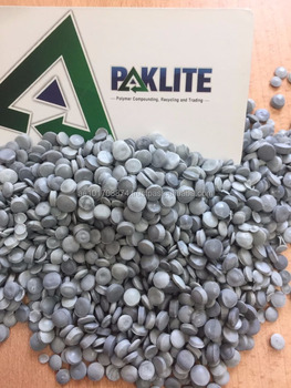 LDPE Recycled Granules (Grey)