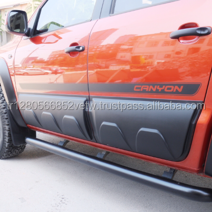 Volkswagen Amarok BODY CLADDING Fender Flares ABS Plactic Arch 2012 - 2017