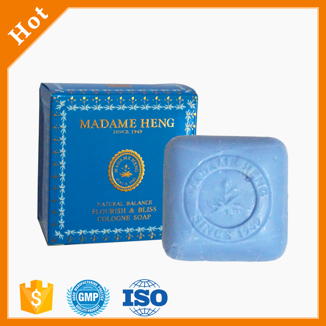MADAME HENG NATURAL BALANCE FLOURISH & BLISS COLOGNE SOAP weight 150g.