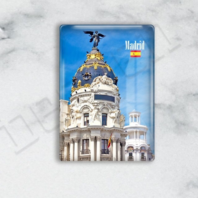 Fridge Magnet - Spain Madrid Series - M01ISPMAD-13