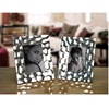 Photo Frame Shiny Silver Decorative