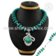 Spectacular sky turquoise designer necklace women jewelry 925 sterling silver gemstone necklaces wholesaler
