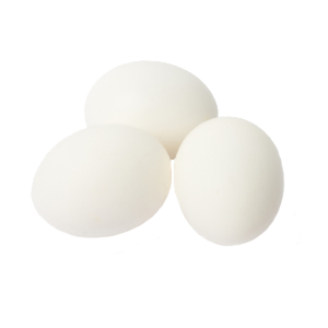 Fresh white and brown chicken eggs from Ukraine