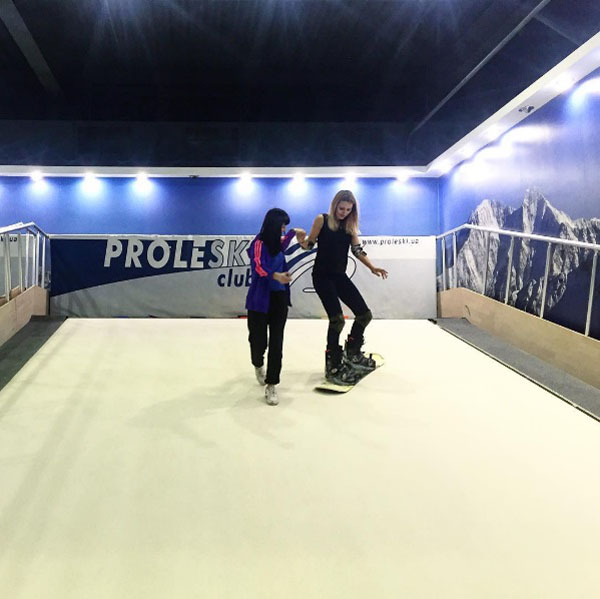 Buy in Thailand Proleski sports training treadmill Indoor simulator for biathlon, roller skiing, cycling, cross-country skiing