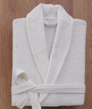 100 % Cotton Plain Dyed Bathrobe