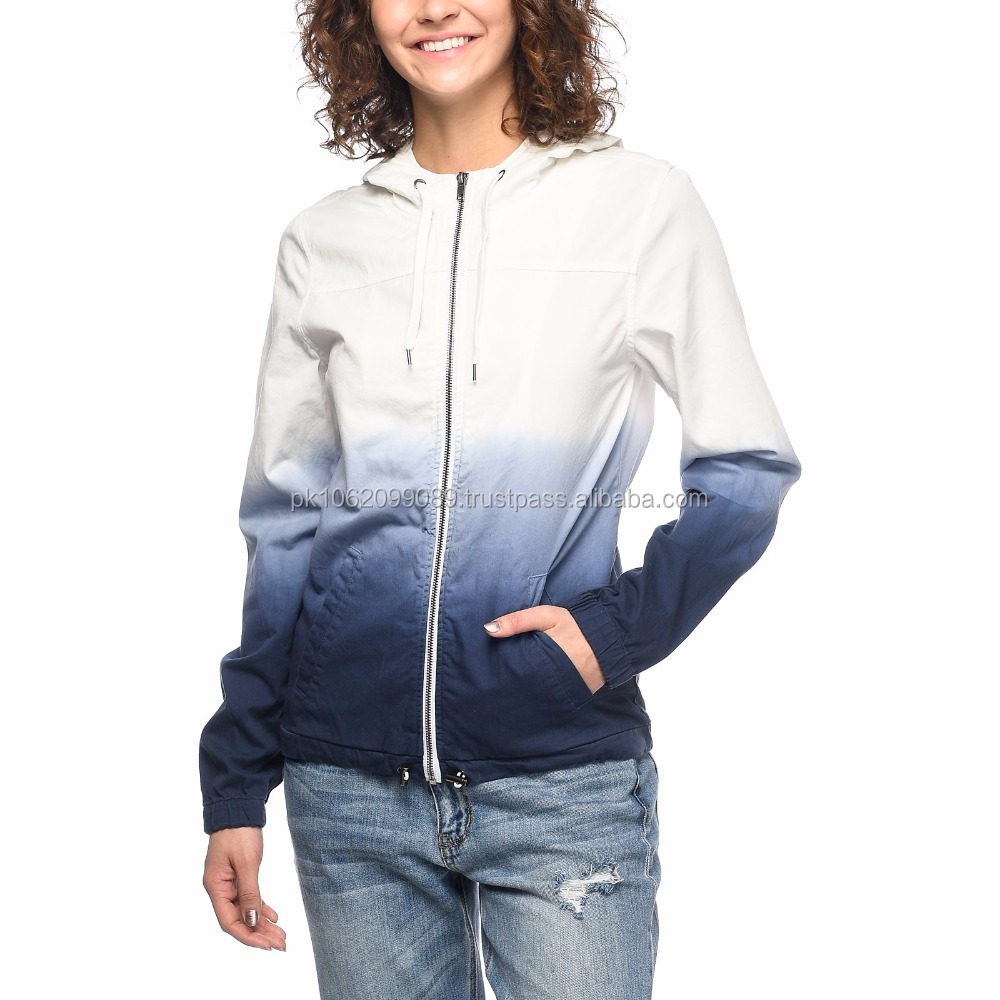 Custom sublimated Wind breaker ladies jacket