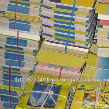 YELLOW PAGES Telephone directories High quality waste paper for export