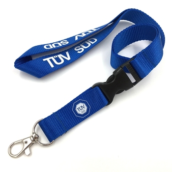 China wholesale factory price adjustable strap nylon lanyard