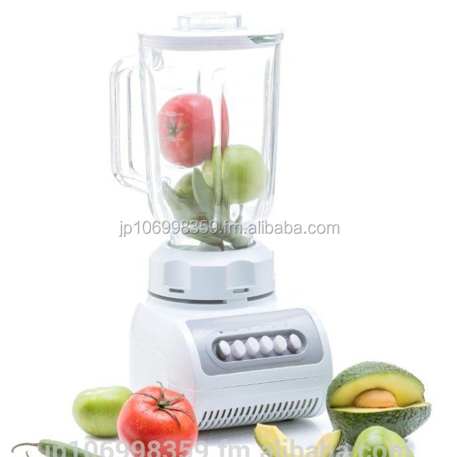 ABS 5 Speeds Electric Blender 1.5L Plastic or Glass