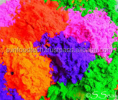 Orange Organic Holi Colors Powder Made with Naural Herbs