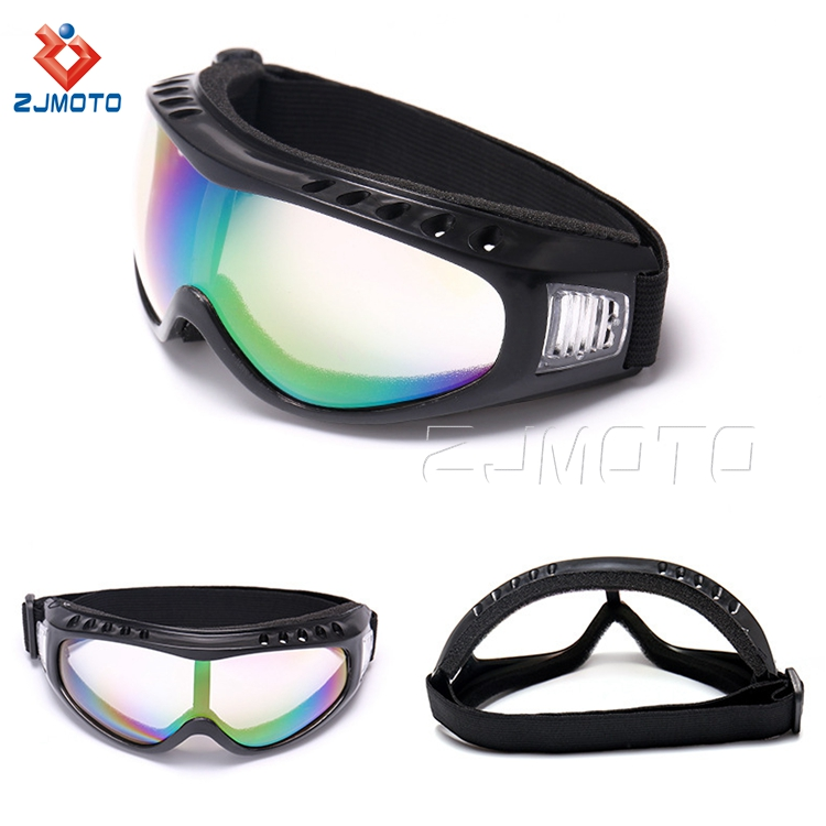 Anti-fog Coating Motorcycle Ski Snowboard Goggles Racing Ski Goggles Safty Eye Sunglasses