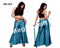 Women's BOHO Chic High Waist Wide Leg Flare Soft Palazzo Pants- Women's Harem Ethnic Harem Pants-
