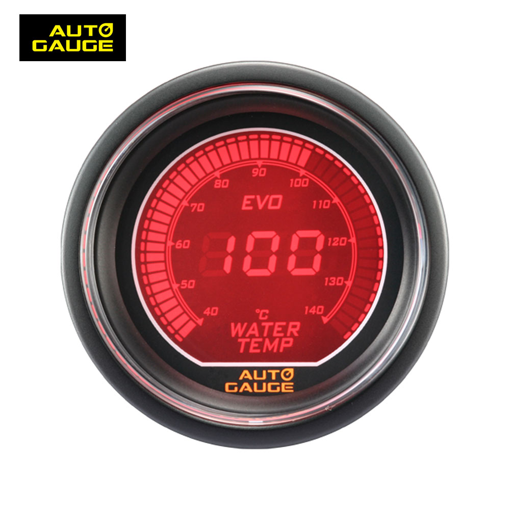 Optimum Choice Sensor Digital Display Racing Car Thermometer Water Temperature Meter
