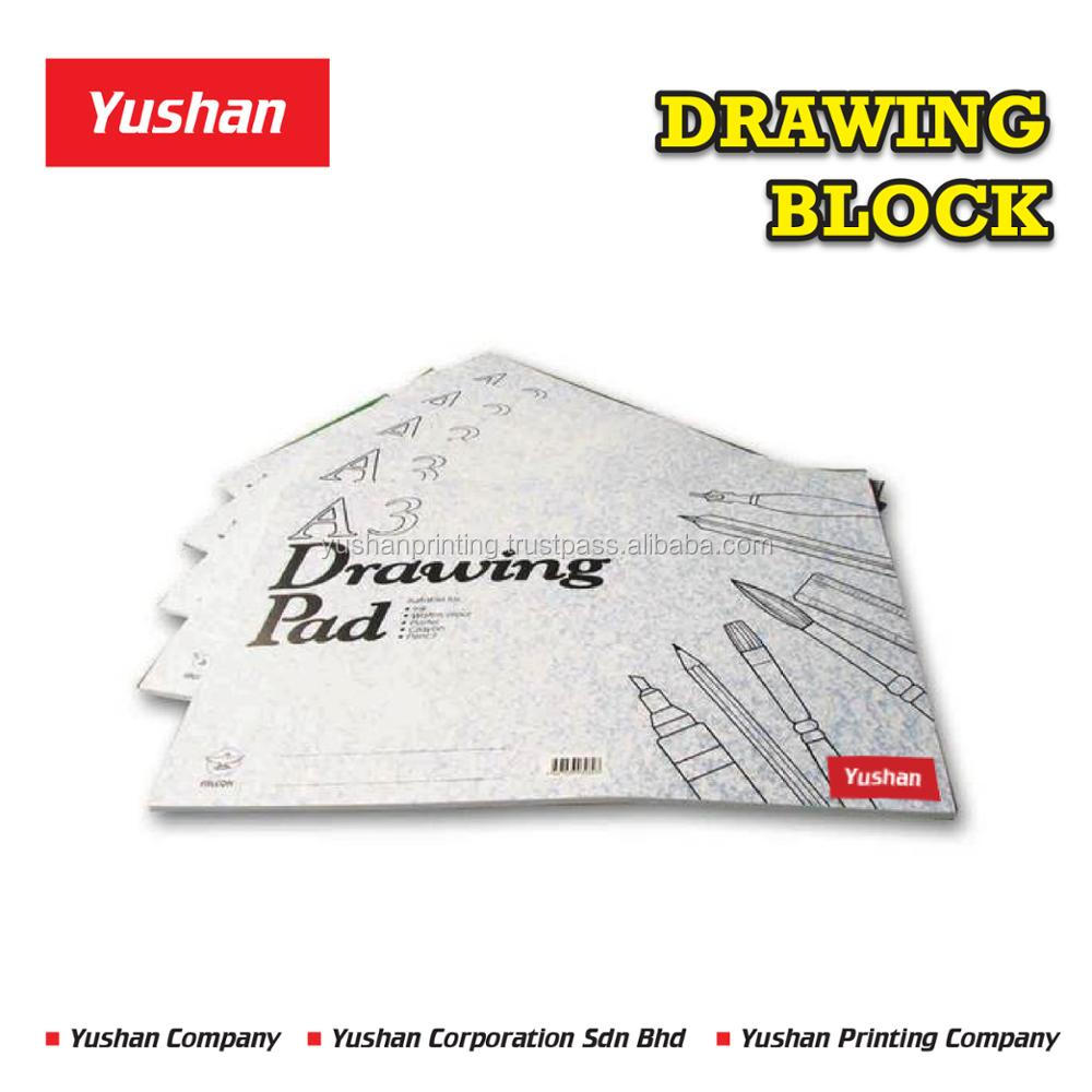 Wholesale Blank Drawing Book or Sketch Book for Children and School Art and Drawing Class.