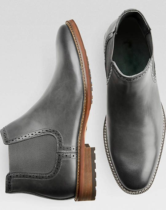 Mens dress genuine leather derby shoes rubber sole wholesale price for men