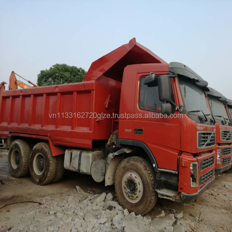 used Volvo dump truck cheap price for sale