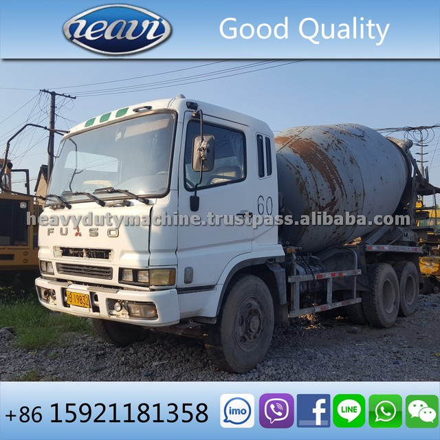 Used Fuso Concrete Mixer Truck