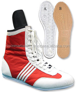 new design leather boxing shoes|mma shoes sambo shoes