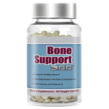 Advanced Formula with Calcium & Vitamin D ( 60 Caps / Bottle ) Bone Supplement
