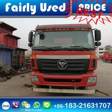 Chinese Famous Brand Foton Used Dump Tipper Truck 2015 Made Cheap Price for sale