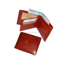 Trending travel genuine cowhide leather mens wallet for sale