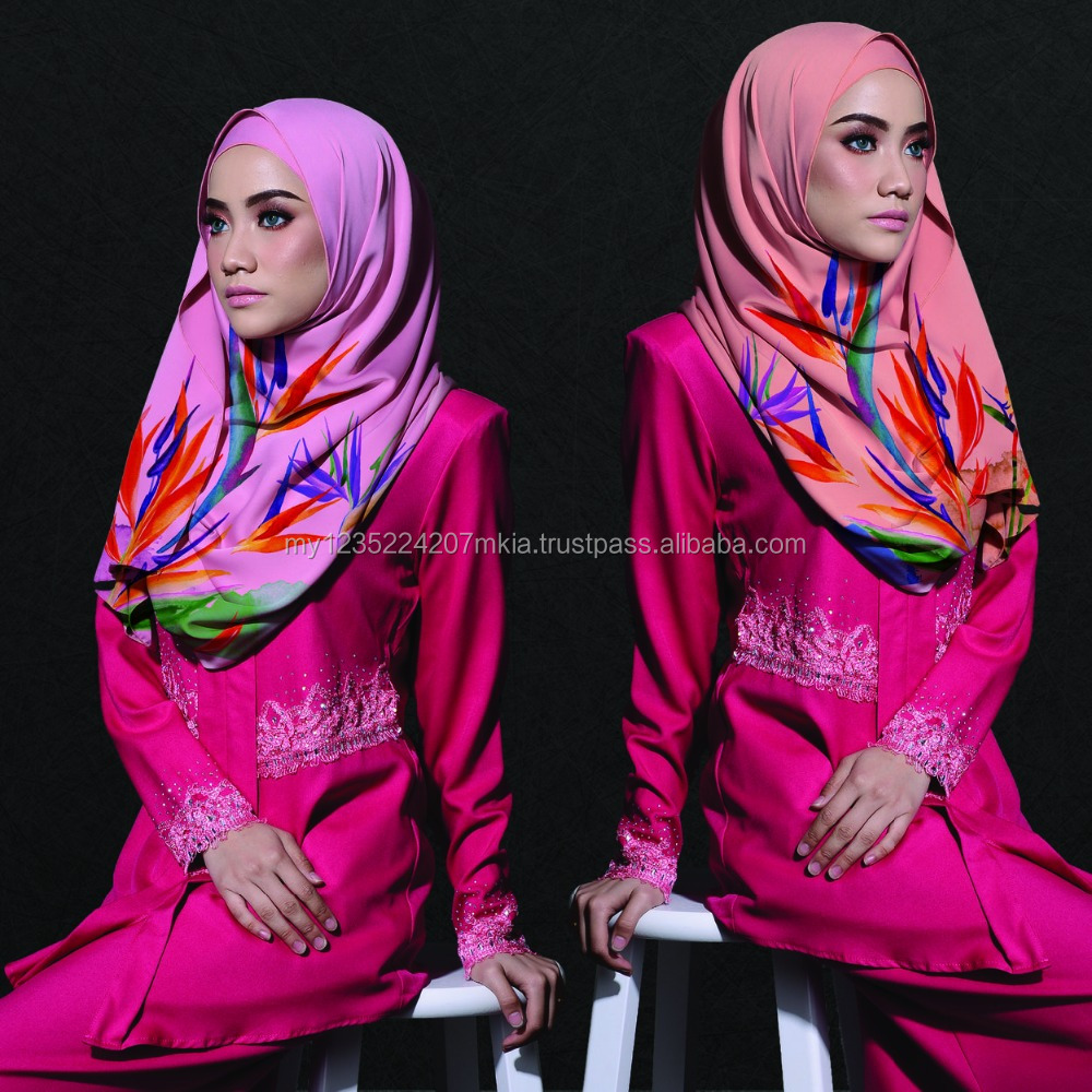 High Quality Shawl Modern Malaysia / Wholesale / Manufacturing