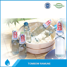 Japanese refreshing cold drink ramune in soda bottle for sale