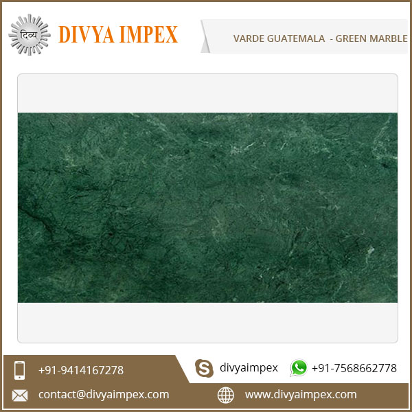 High Quality Verde Guatemala Marble For Flooring and Wall