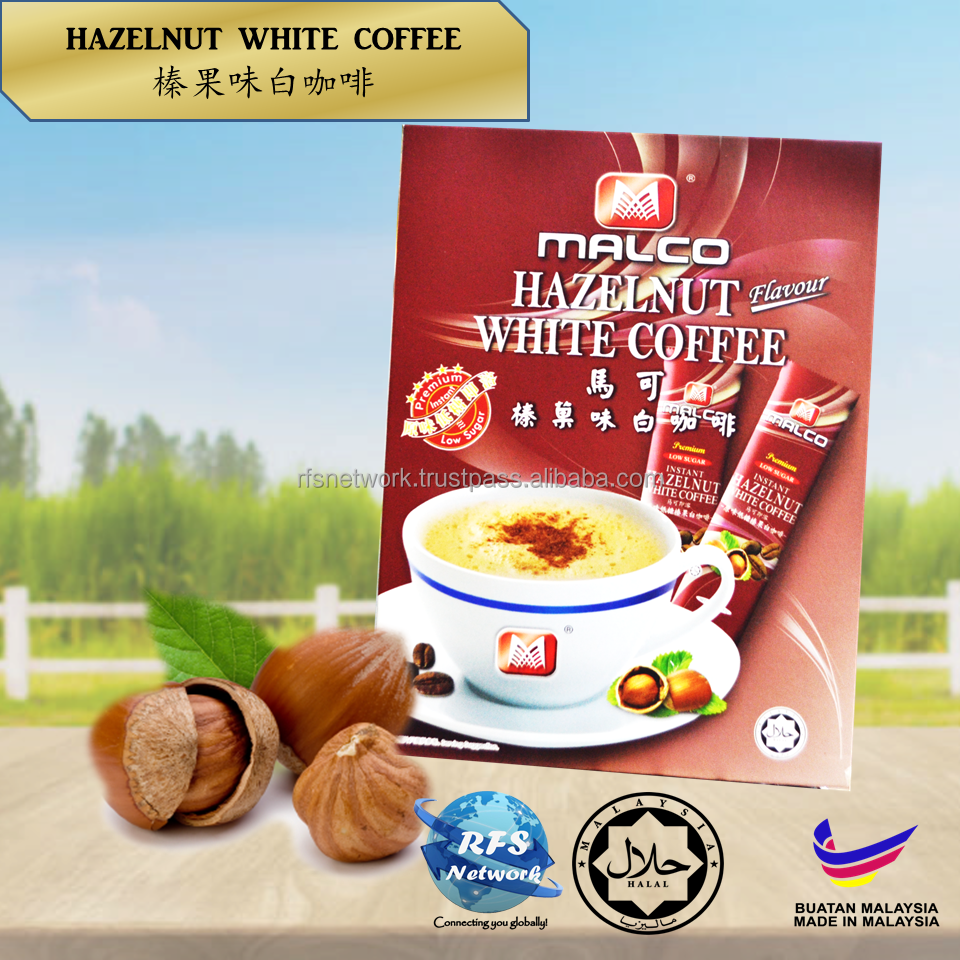 Hazelnut White Coffee
