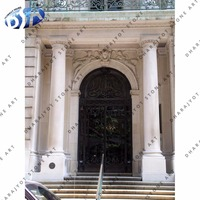 White Marble Natural Stone Door Surrounding