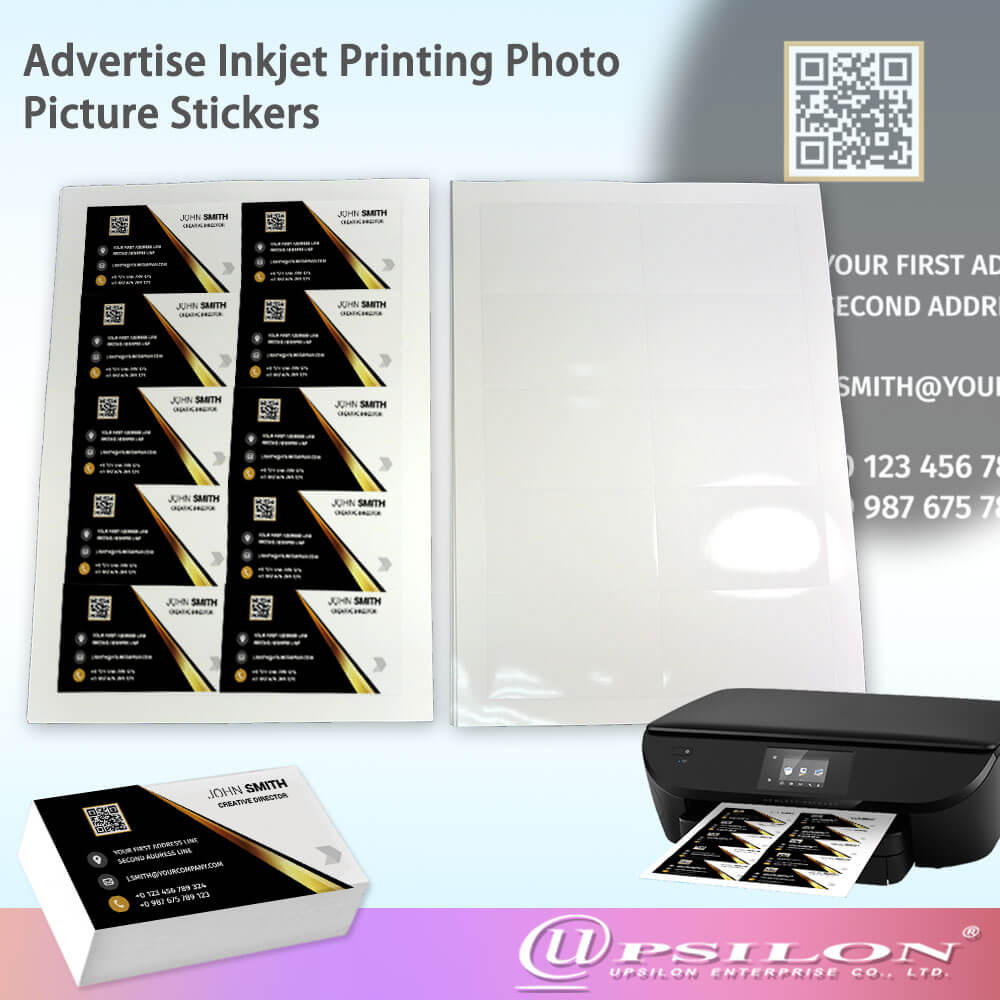 Hot Sale Inkjet Glossy Business Card Printing Paper