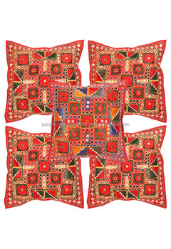 New Arrival 2017 Wholesale Embroidered Fabric Cushion Cover