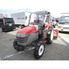 Japan used yanmar tractor 30hp 4wd for agriculture machinery