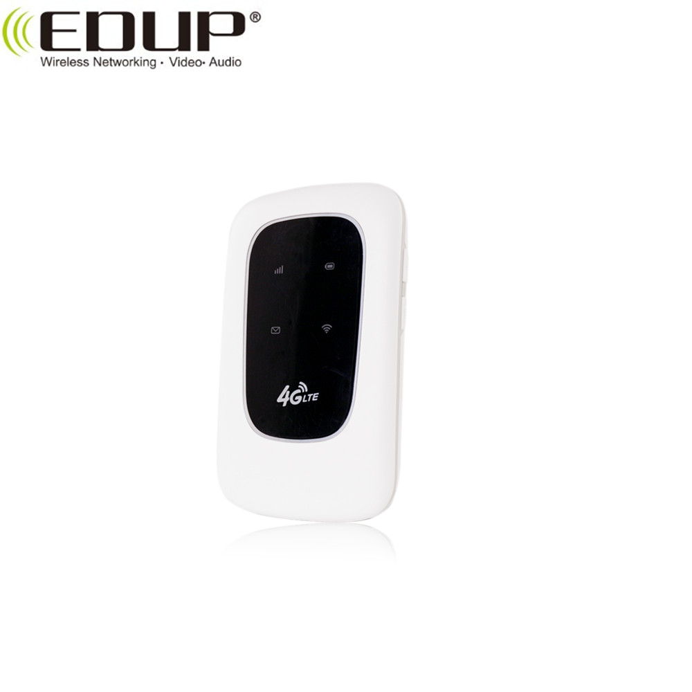 EDUP 150Mbps Best 3g 4g battery power portable wifi router mi-fi 4g lte sim