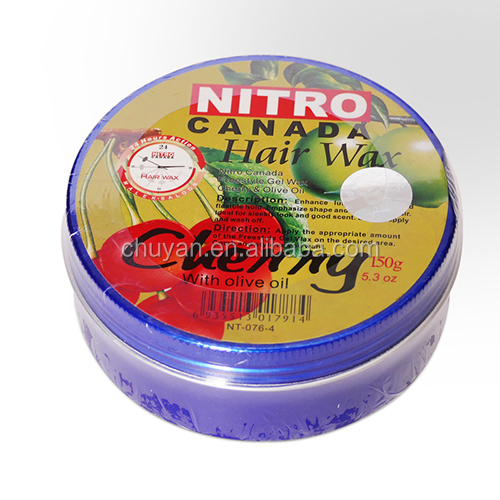 Nitro Canada professional extreme hold hair Styling shine wax for man 150g
