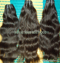 Indian water wavy human hair