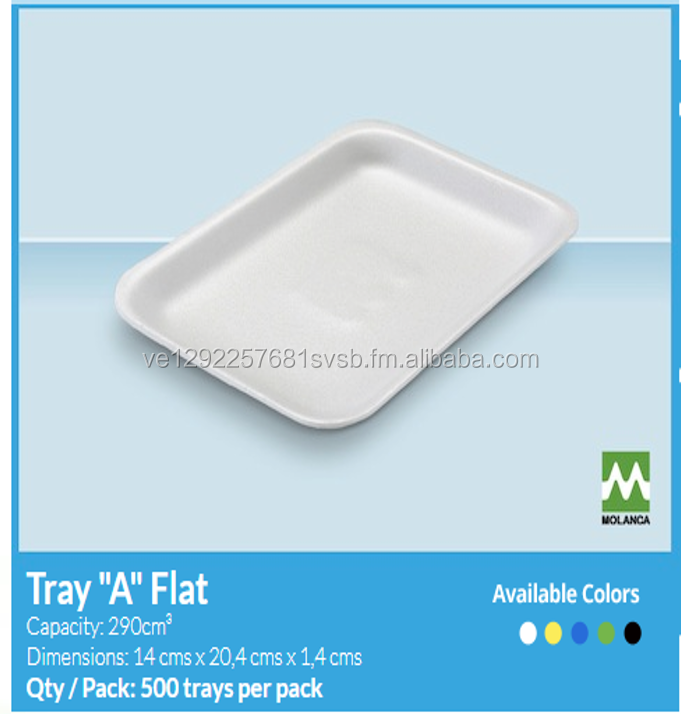 FOAM TRAYS FOR FOOD (COME IN A LARGE OF SIZES)