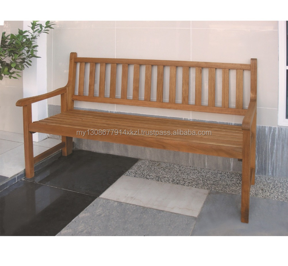 Lisbon 3-Seater Folding Bench Made in Malaysia