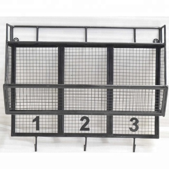 Wall Hangining Industrial Vintage Mesh Kitchen Cabinet