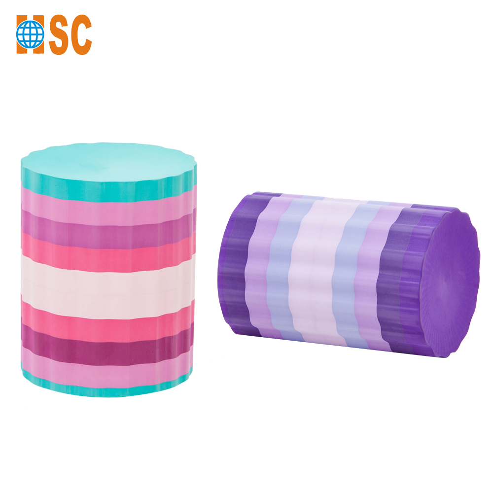 2017 Hot hard soft foot roller with Wheel massage