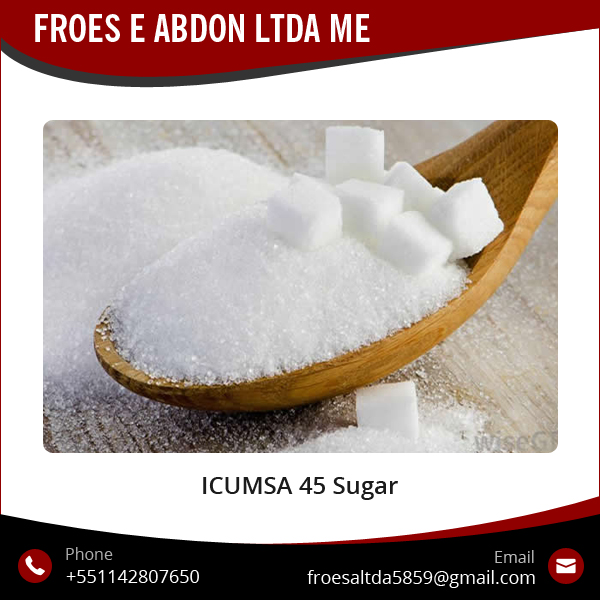 Brazilian Raw Natural Sugar Icumsa 45 at Reliable Export Price
