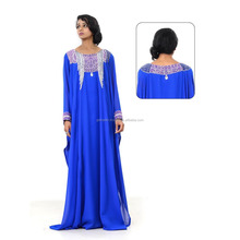 DUBAI VERY FANCY KAFTANS abaya Gorgeous long sleeve muslim evening dress