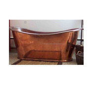 copper antique hand made oval design bath tub