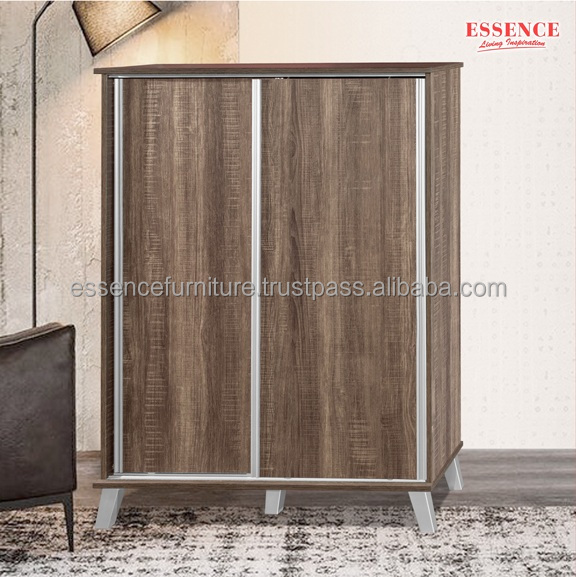 Shoe Rack Cabinet with Sliding Doors SC3252 Made In Malaysia