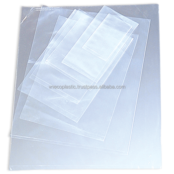 High quality & cheap price HDPE, LDPE & LLDPE flat/ transparent bag shopping bags from Vietnam